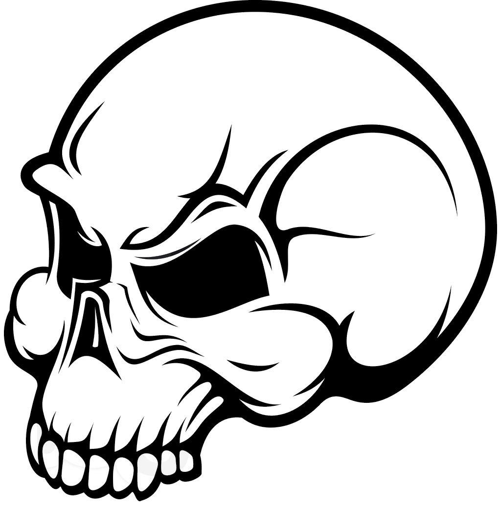 3 skulls clipart banner transparent download Skull clip art clipart 3 wikiclipart - ClipartAndScrap banner transparent download