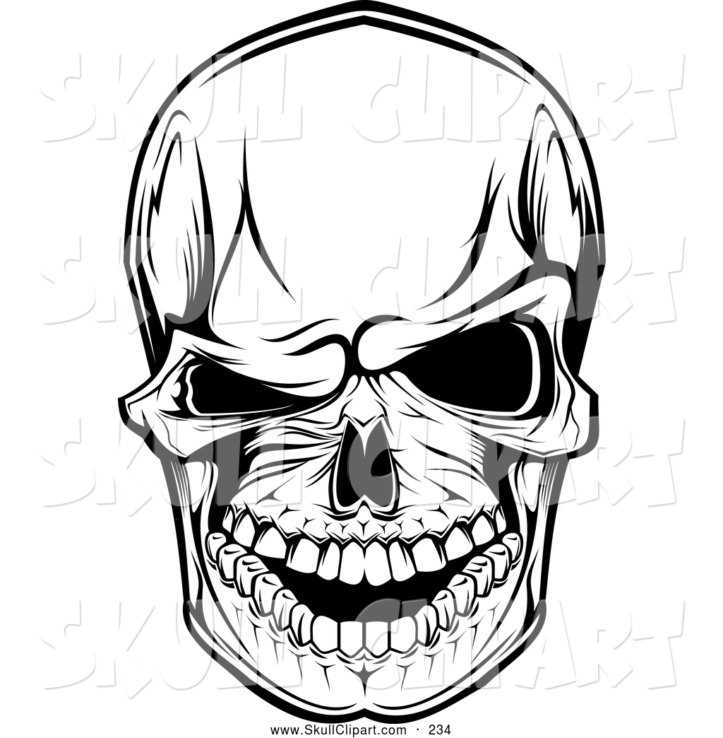 Three eyed skull clipart clipart black and white stock Skulls Pictures | Free download best Skulls Pictures on ClipArtMag.com clipart black and white stock