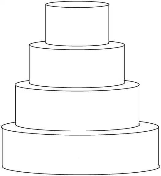 4 tier cake template - - Yahoo Image Search Results | Template ... banner royalty free download