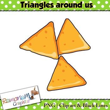 3 triangles clipart vector Shapes 2D Triangles Clip art vector