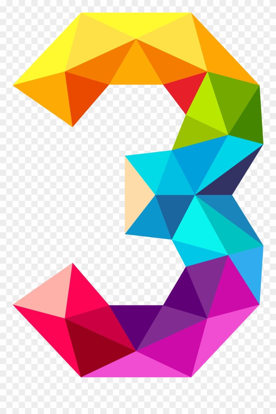 3 triangles clipart clip art black and white library Clipart Images, Triangles, Numbers, Clip Art, Third, - Colourful ... clip art black and white library