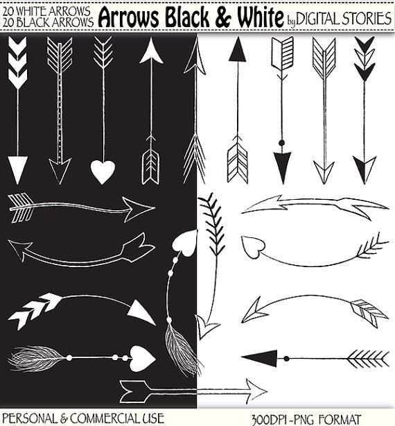 3 tribal arrow clipart clipart black and white stock 17 Best images about baby shower on Pinterest | Clip art, Creative ... clipart black and white stock