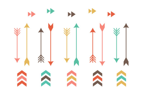 Free clipartfest . 3 tribal arrow clipart