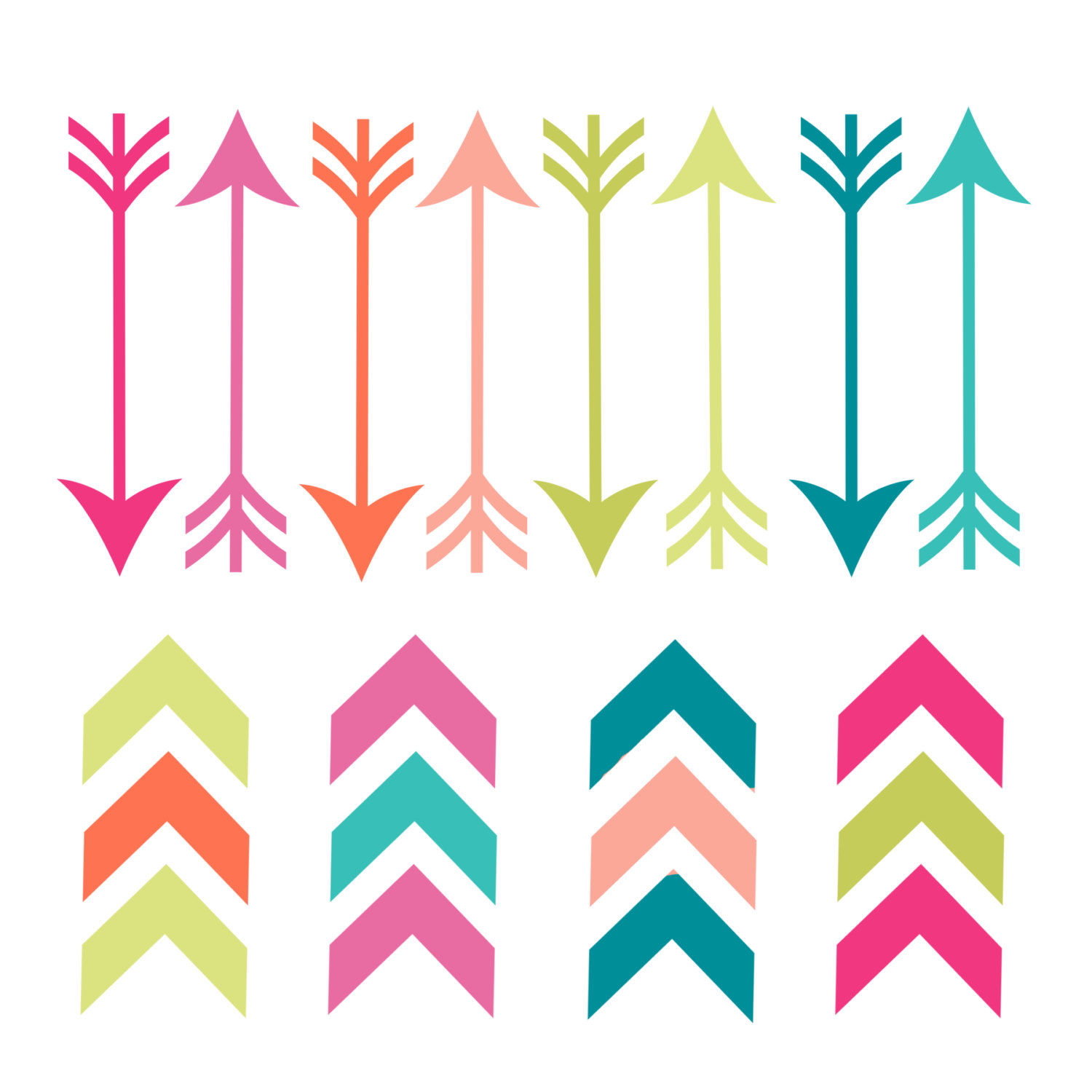 Arrows kid famclipart feather. 3 tribal arrow clipart