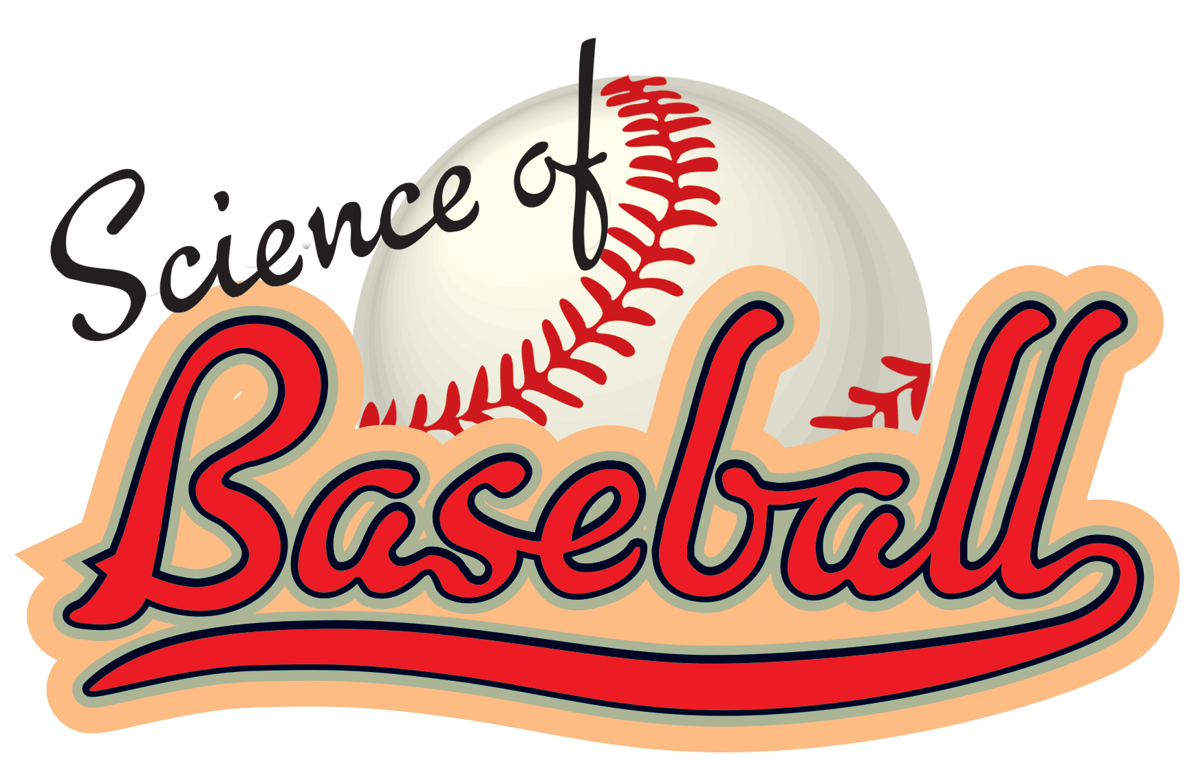 Baseball clipart hope you had a ball banner royalty free download Science of Baseball banner royalty free download