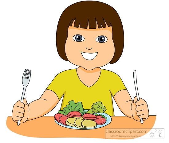 3 women eating together clipart image free stock Girl eating healthy foods clipart 3 » Clipart Portal image free stock