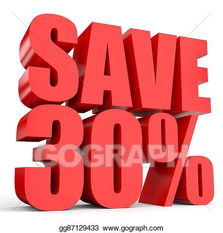 30 percent clipart clip stock Stock Illustration - Discount 30 percent off. Clipart Illustrations ... clip stock