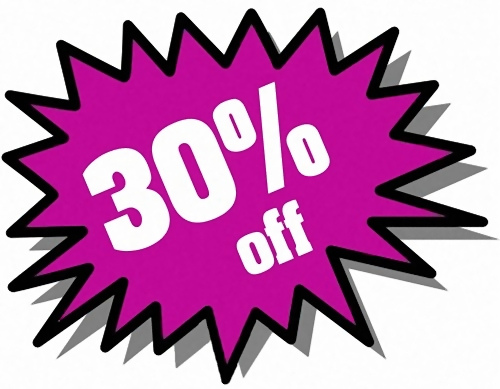 30 percent clipart clip royalty free Savings | Free Stock Photo | Purple 30 percent off stickers | # 972 clip royalty free