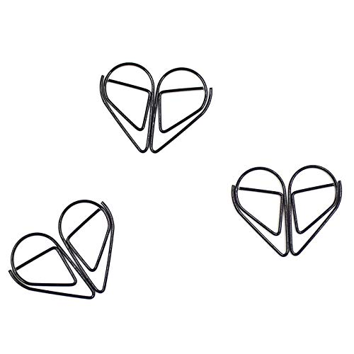 30 pieces of silver black & white clipart vector freeuse download Amazon.com : Clip for Paper - 30 Pieces/Set of Metal Water Drop ... vector freeuse download