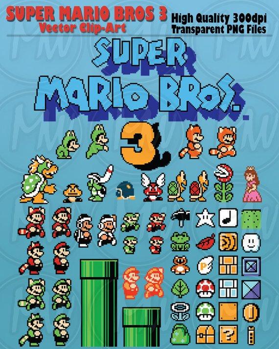 300 dpi bowser clipart vector library download Super Mario Bros 3, Clipart, Mario, Pixels, 8-bit, Vector, Classic ... vector library download