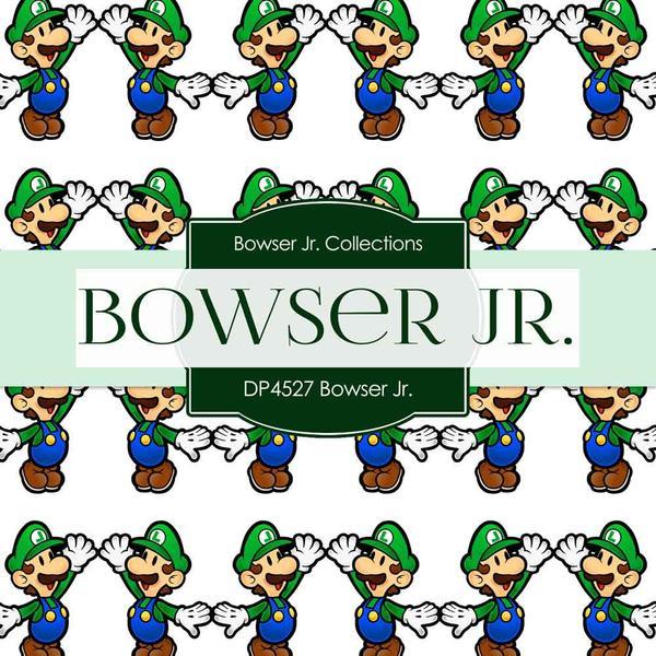 300 dpi bowser clipart picture transparent stock Bowser Jr Paper DP4527 picture transparent stock