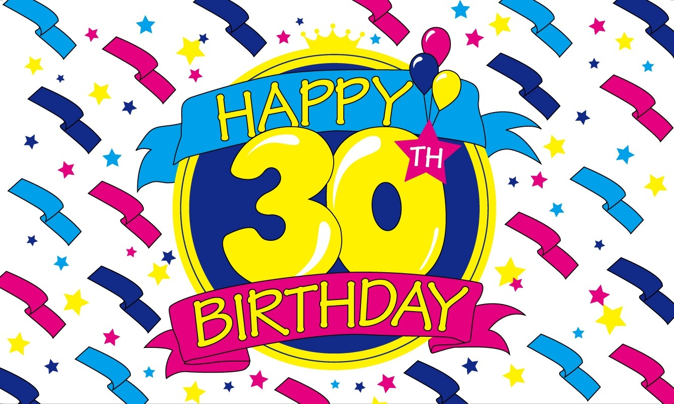 30th birthday pictures clipart freeuse 30th Birthday Clipart | Free download best 30th Birthday Clipart on ... freeuse