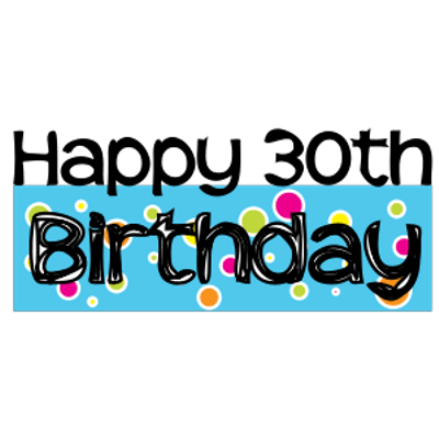 30th birthday clipart images picture free download Happy 30th birthday clipart clipart images gallery for free download ... picture free download