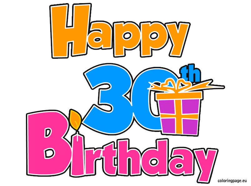 30th birthday clipart images clipart library download Free 30 Birthday Cliparts, Download Free Clip Art, Free Clip Art on ... clipart library download