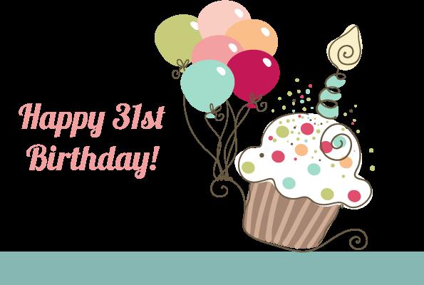 31st birthday clipart clip stock Happy 31 birthday to me   Happy 31st Birthday to Me!   Erica   31st ... clip stock