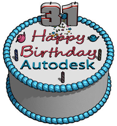 31st birthday clipart banner royalty free download Autodesk 31st BIrthday Cake in   Clipart Panda - Free Clipart Images banner royalty free download