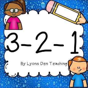 3-2-1 clipart image 3-2-1 Graphic Organizer image