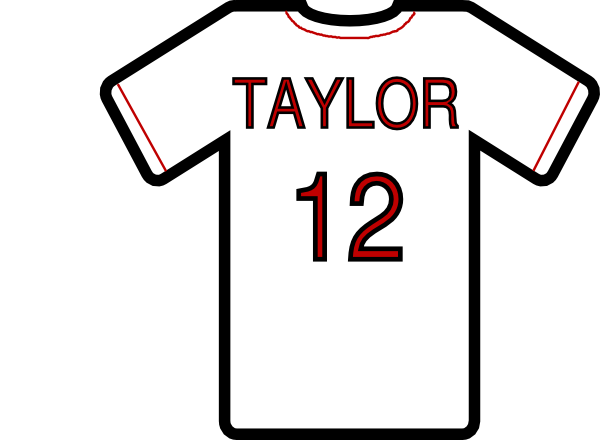 Baseball jersey clipart red image black and white stock Free 30 Basketball Jersey Cliparts, Download Free Clip Art, Free ... image black and white stock