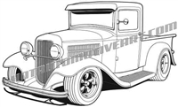 34 ford clipart