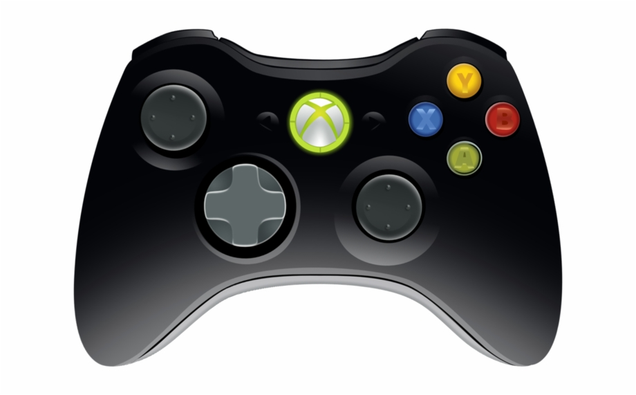 360 controller clipart graphic free library Xbox 360 Controller Png - Xbox 360 Controller Black Free PNG Images ... graphic free library