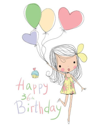 36th birthday clipart