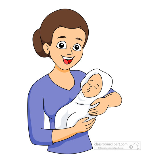 39+ Mother Clip Art | ClipartLook png black and white download