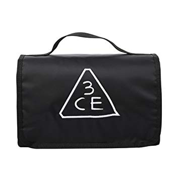 3CE Wash Bag Waterproof Makeup Pouch / makeup pouch / stylenanda / kbeauty banner black and white download