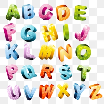 3d alphabet letters clipart free download 3d Letters Png, Vector, PSD, and Clipart With Transparent Background ... free download