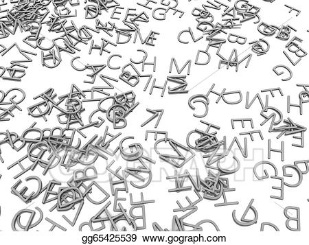 3d alphabet letters clipart png royalty free Stock Illustration - 3d alphabet letters. Clipart Drawing gg65425539 ... png royalty free