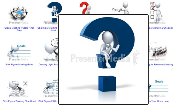 3D Cliparts for PowerPoint - Templates and Backgrounds clipart free library