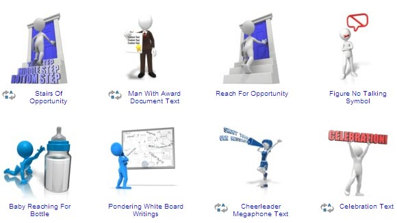 Clip Art For Powerpoint 3d Animated Clipart - Clipart Kid vector