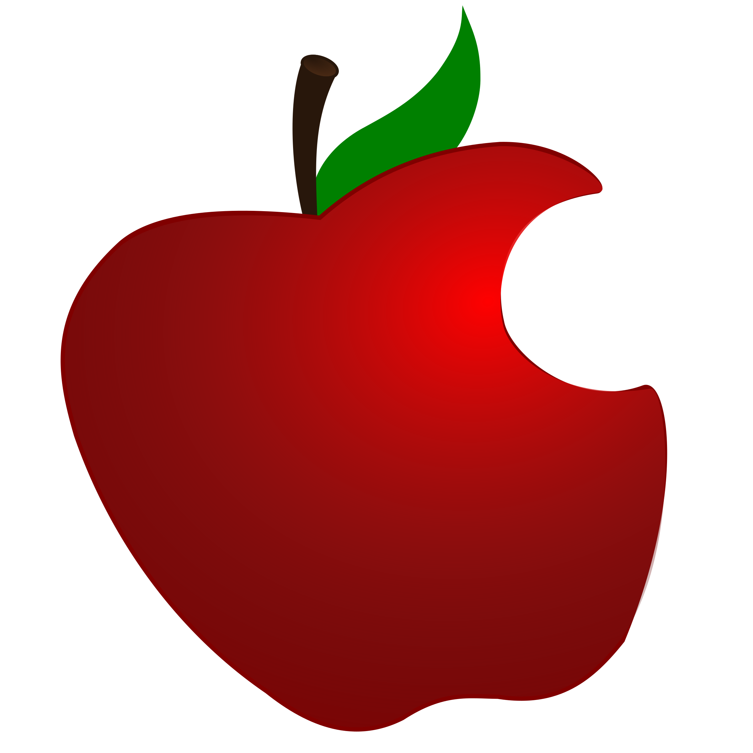 Clipart twice bitten apple picture royalty free library 28+ Collection of Apple With A Bite Out Of It Clipart | High quality ... picture royalty free library