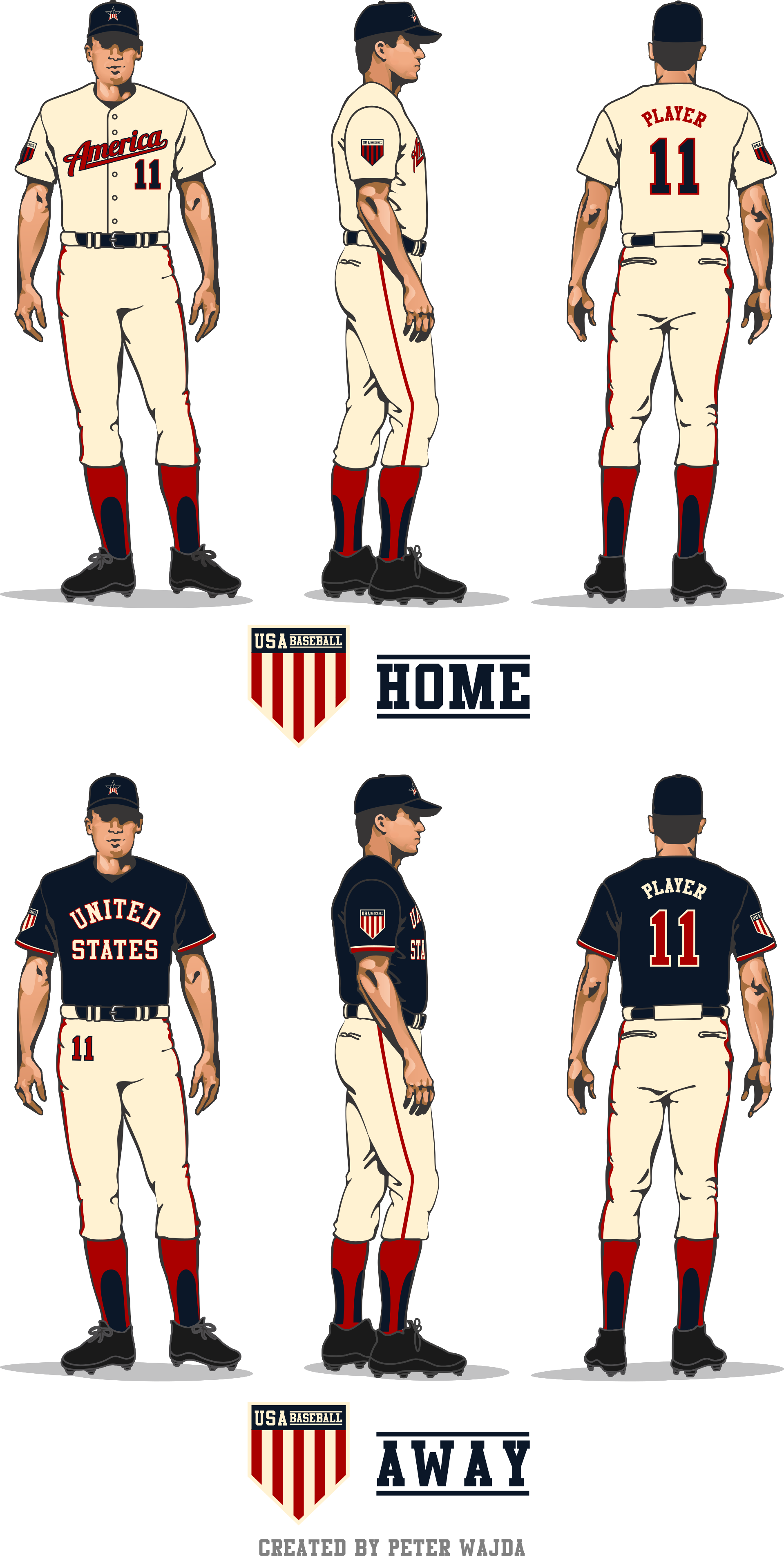 3d baseball thread clipart graphic royalty free Most 'Murica: Your Redesign The USA Jersey Finalists | Uni Watch graphic royalty free
