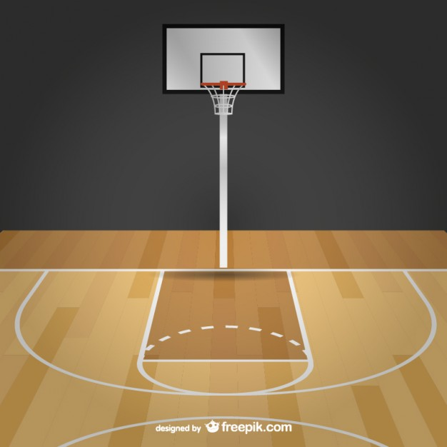 Cartoon basketball court clipart clipart free stock Free Basketball Court Cartoon, Download Free Clip Art, Free Clip Art ... clipart free stock