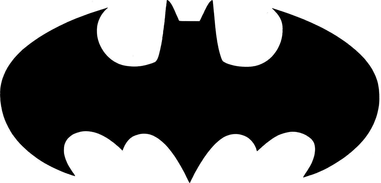 Black Batman Symbol - 6\