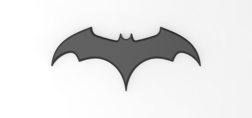 3D Printed 3D printable Batman emblem for cosplay costume by Dmitriy ... png freeuse stock