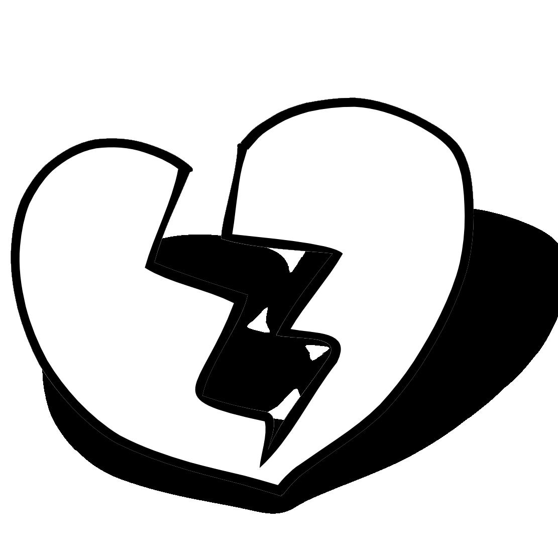 Free Broken Heart Graphics, Download Free Clip Art, Free Clip Art on ... jpg library stock