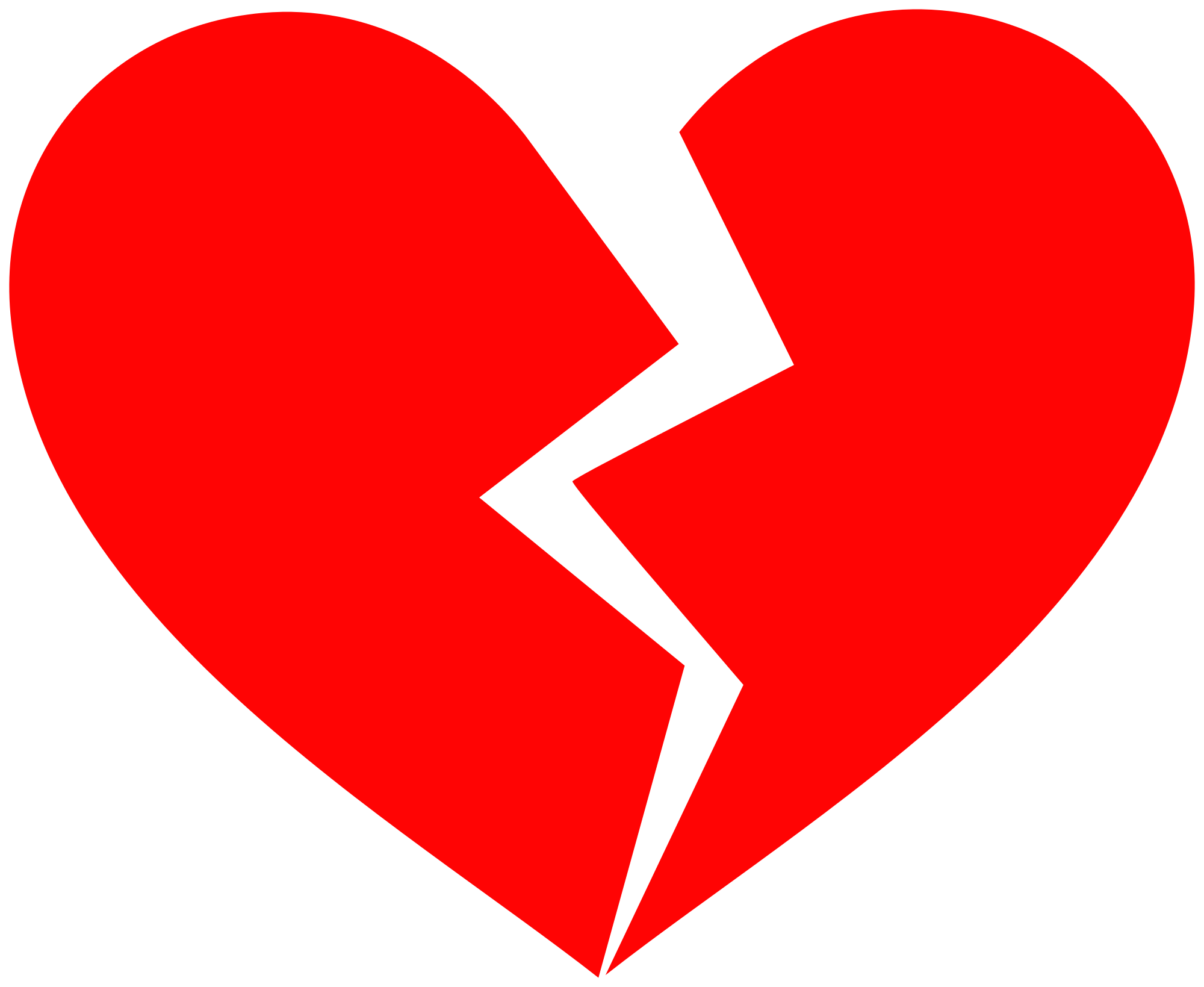 Broken heart with bandage clipart