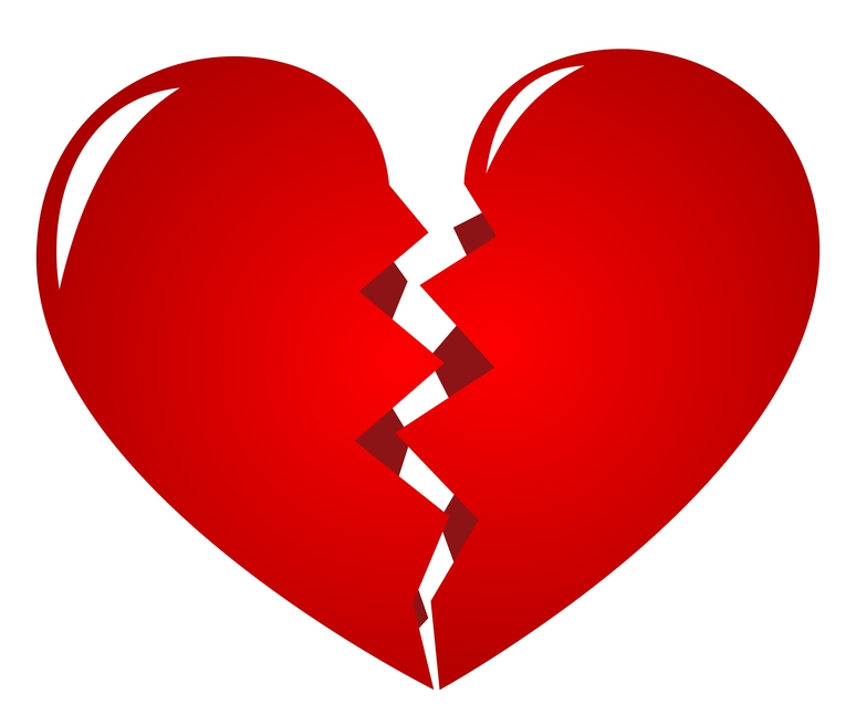 55 Best Broken Heart Pictures And Images banner black and white library
