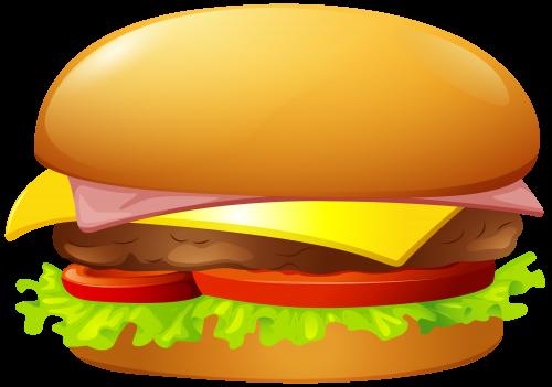 3d burger clipart
