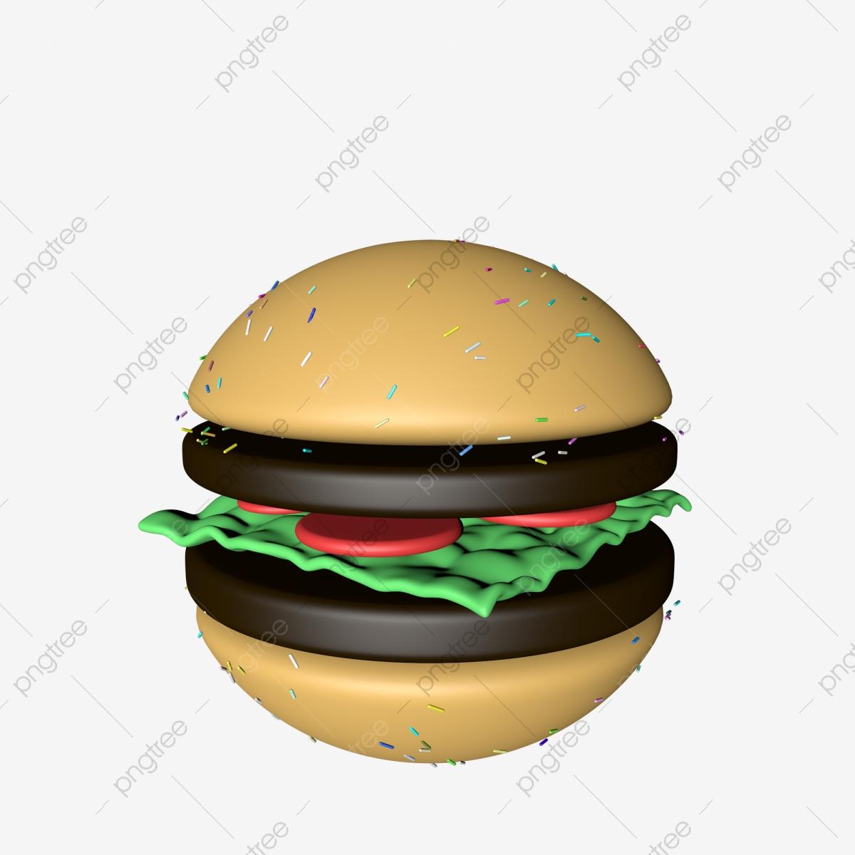 3d Gourmet Burger C4d Modeling Food Material, 3d Burger, Burger ... free library