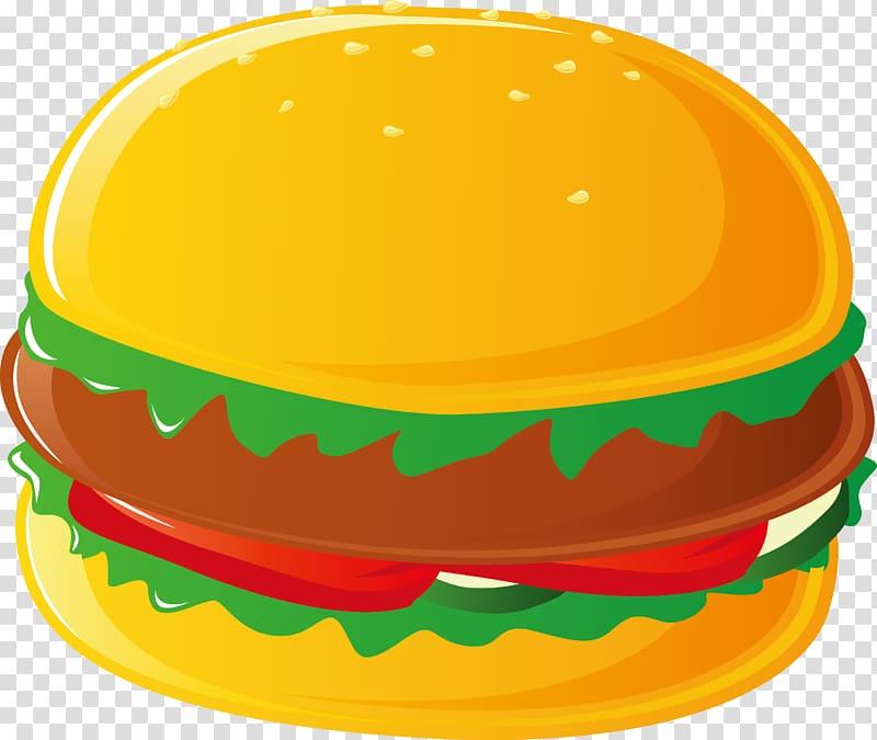 Hamburger Hot dog Cheeseburger Pizza French fries, Beef burger 3D ... banner royalty free stock