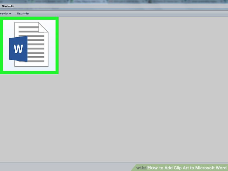 4 Easy Ways to Add Clip Art to Microsoft Word - wikiHow graphic library