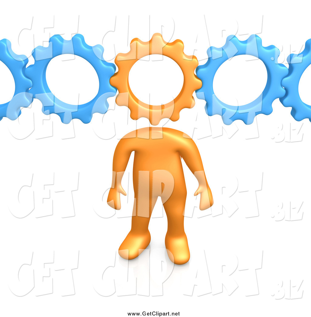 3d clipart 3 gears png transparent download Royalty Free Orange Person Stock Get Designs - Page 3 png transparent download