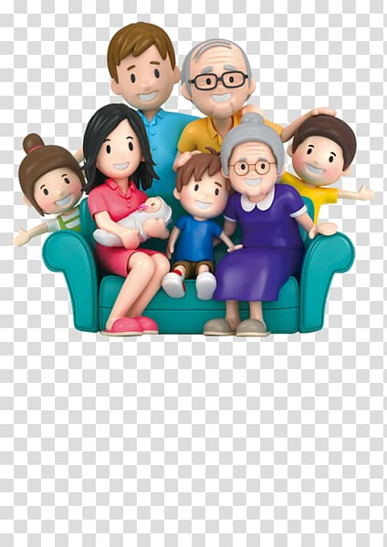 3d clipart characters image royalty free stock Animated characters family , Extended family , 3D cartoon family ... image royalty free stock