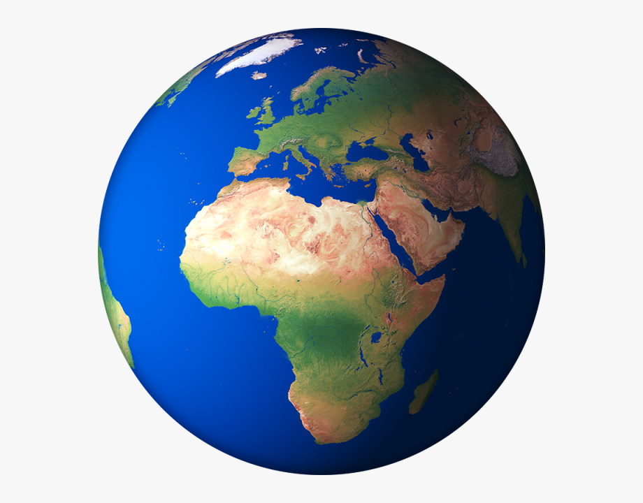 Earth 3d clipart vector free library D Render Globe Planet Png And Ⓒ - Africa 3d Globe Map #1073431 ... vector free library