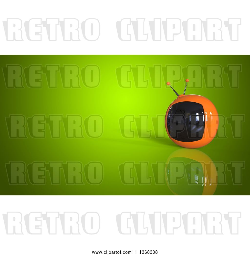 3d clipart gameshow host graphic free library Clip Art of Retro 3d Tv on a Green Background by Julos - #40904 graphic free library