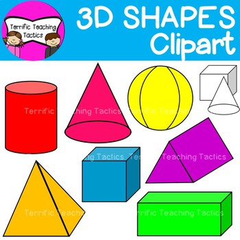 3d clipart shape images jpg royalty free download 3D Shapes Clip Art (Geometry/Solids) jpg royalty free download