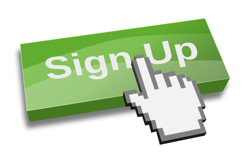 Sign up images clipart banner black and white library Sign Up Button PNG Images Transparent Free Download | PNGMart.com banner black and white library