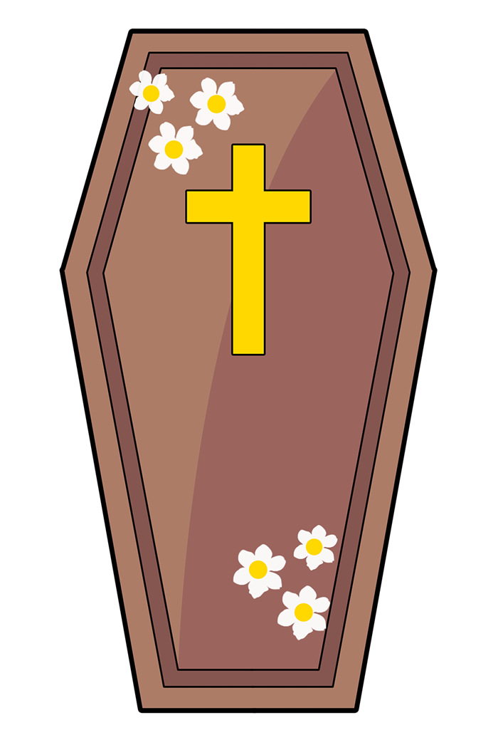 3d coffin clipart clipart royalty free library 23+ Coffin Clip Art | ClipartLook clipart royalty free library